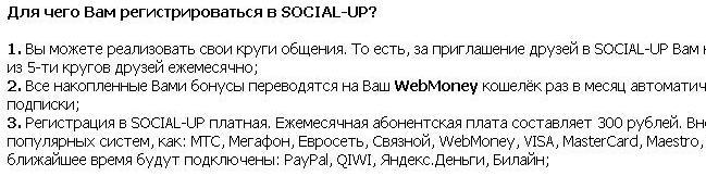 300 рублей в месяц